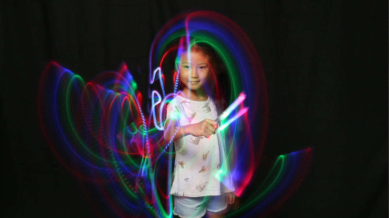 Light Painting with Photo Booth