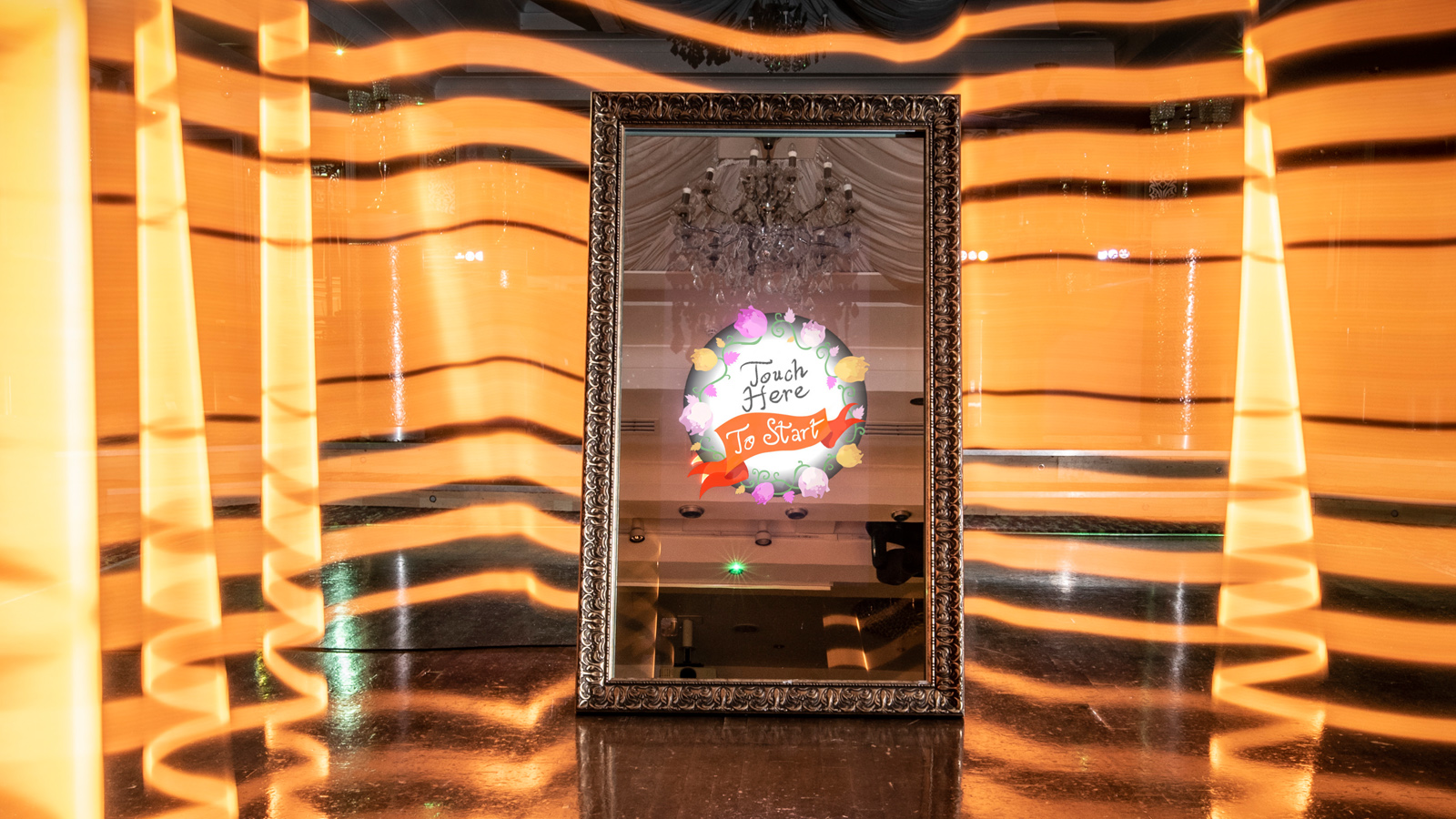 Interactive Magic Mirror Photo Booth for Party