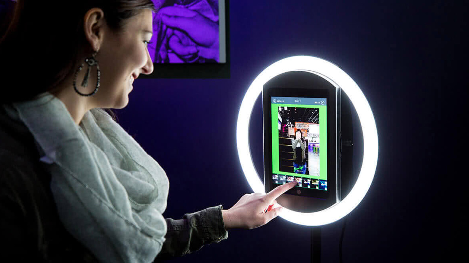 Selfie Station iPad Photo Booth Corporate Events