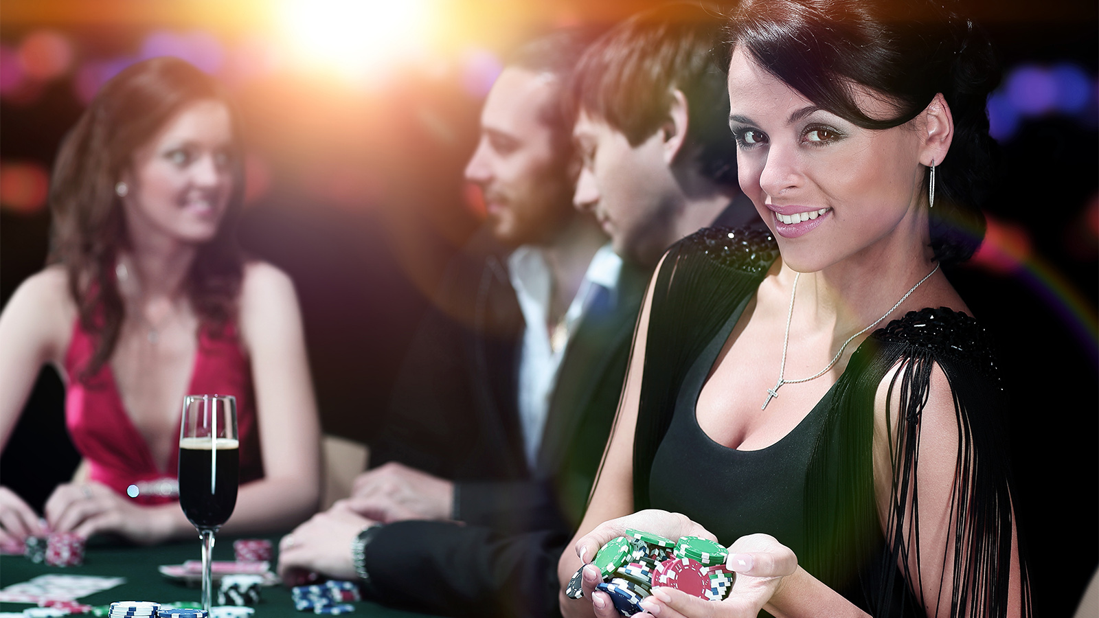 nyc poker table casino party