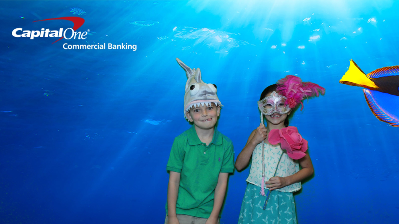 Green Screen Photo Booth for Corporate Event
