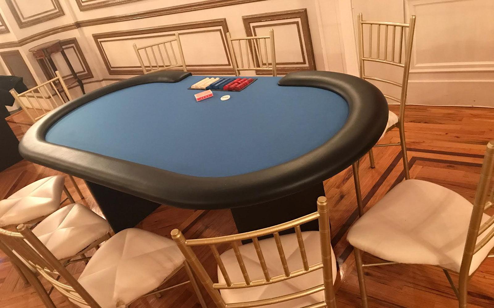 poker table rental 212 casino